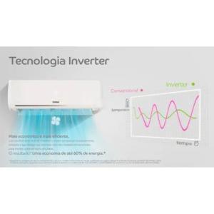 Ar condicionado split inverter 9000 btus Consul frio maxi refrigeração e maxi economia - CBF09EBBCJ - 220V