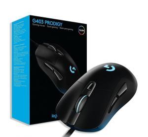 Mouse Gamer Logitech G403 Prodigy RGB USB Preto - R$189