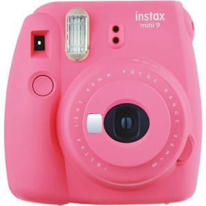 Câmera Fujifilm Instax Mini 9 - Rosa Flamingo - R$250
