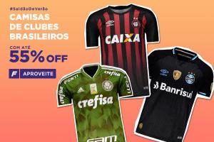 Camisas de clubes brasileiros com até 55% OFF - FutFanatics ef7bbc5353ea5