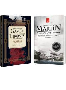 Livro - Guia HBO Game of Thrones + Guerra dos Tronos