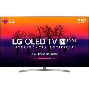 "[AME] Smart TV Oled 55"" LG OLED55B8SSC Ultra HD 4k com Conversor Digital 4 HDMI 3 USB por R$ 4560 ( COM AME)"