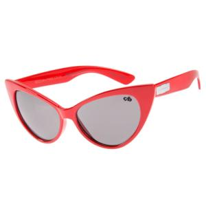 Óculo infantil feminino vermelho   R$75