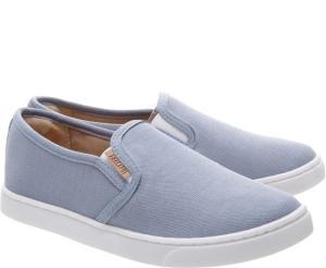 Tênis Slip On Mini Lona Jeans - infantil | R$60