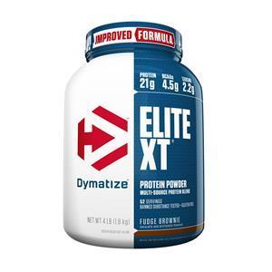 Whey Blend - ELITE XT (1,81 Kg) - Dymatize Nutrition + BCAA 2400 (60 cápsulas) - Max Titanium por R$177