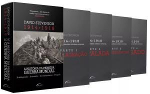 Box A História Da Primeira Guerra Mundial 1914-1918 4 Livros - R$40