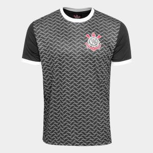 Camisa Corinthians Libertados Masculina - Preto