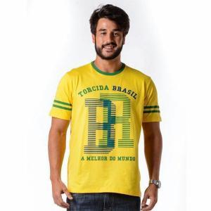 0Pegar promoçãoPegar promoção · Camiseta Brasil São Francisco bce6e1411cc78