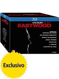 Blu-ray Coleção Clint Eastwood - 7 Discos | R$90