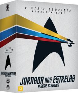 DVD Box Jornada Nas Estrelas - A Série Clássica - 23 Discos | R$100