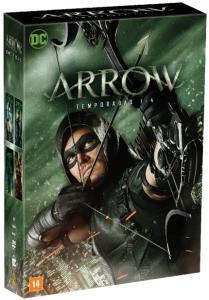 DVD Arrow - 1ª A 4ª Temporada - 20 Discos | R$110