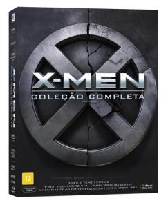 Blu-Ray X-Men - Coleção Completa - 6 Discos | R$75