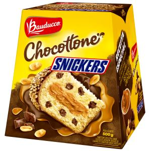 Chocottone BAUDUCCO Sabor Snickers 500g - R$ 13
