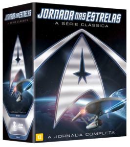DVD Jornada Nas Estrelas - A Série Clássica Completa - 23 Discos | R$90