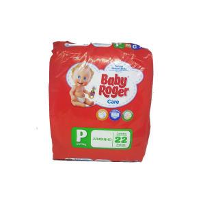 10 Pacotes De Fralda Baby Roger Care Jumbinho P - R$ 84
