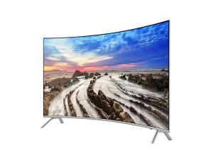 "Smart TV 4K Samsung 55MU7500 Tela Curva LED 55"" com Smart Tizen e Wi-Fi - R$ 3599"
