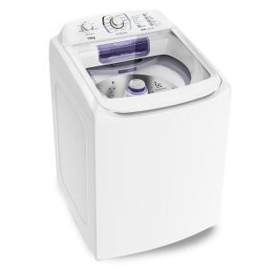 Lavadora Branca com Dispenser Autolimpante e Ciclo Silencioso (LAP16) 220V - R$1439
