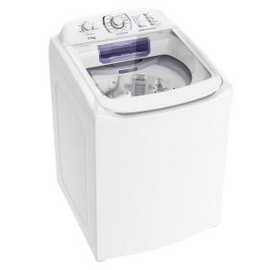 Lavadora Branca com Dispenser Autolimpante e Cesto Inox Electrolux (LAI17) - R$1494