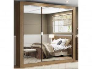 Guarda-roupa Casal 3 Portas Madesa - City 1056-3E com Espelho por R$ 630