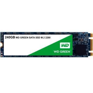 SSD WD Green M.2 2280 240GB Leituras: 545MB/s - WDS240G2G0B - R$216