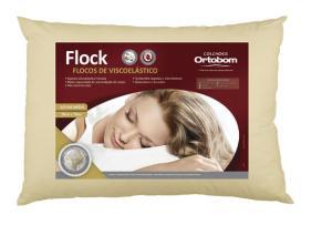 Travesseiro Ortobom flock - R$205