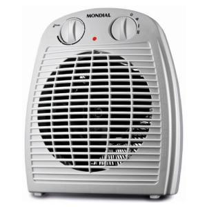 Aquecedor de Ar Mondial 2 Temperaturas 1500W A08 9660-02 | R$61
