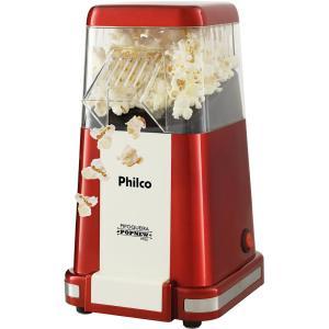 Pipoqueira Elétrico Philco Popnew 1200W Design Vintage Vermelho PPi02 - R$117