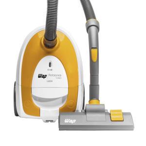 Aspirador de Pó Portátil WAP 1600W Branco e Amarelo Ambiance Turbo FW004641 - R$159