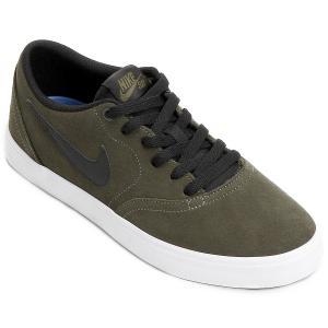 Tênis Nike Sb Check Solar Masculino - Verde Militar e Preto - R$ 112 (nº 38 e 39) - R$ 112