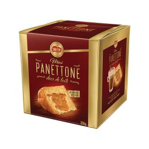 Mini Panetones Nestle ( chocolate ou doce de leite )