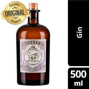 Gin Alemão Monkey 47 Garrafa 500ml | R$162