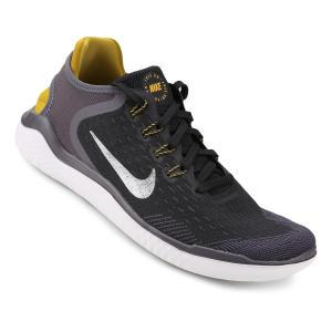 Tênis Nike Free Rn 2018 Masculino - Preto e Cinza (nº 38 ao 44) - R$ 280