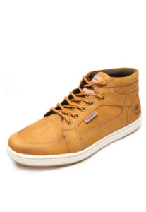 [Primeira compra] Bota Timberland EK Packer Leather Chukka Amarelo - R$140