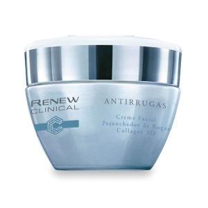 Renew Clinical Creme Facial Preenchedor de Rugas COLLAGEN 3D 30G - R$38
