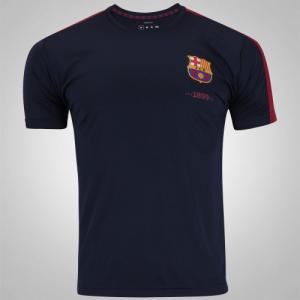 Camiseta Barcelona Fardamento Class - Masculina (P, M, G e GG) - R$ 40