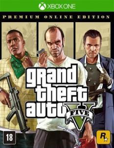 GTA V: Edição online premium | Xbox Live gold | R$75