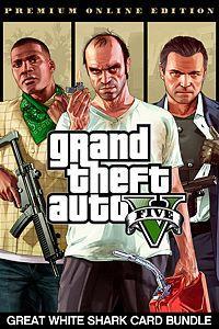 GTA V Edição Online Premium e Pacote de Dinheiro Tubarão-Branco | Xbox live gold | R$85