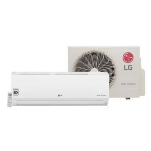 Ar Condicionado Split LG Dual Inverter 9.000 BTU/h Frio S4-Q09WA5WB - 220 Volts - R$1531