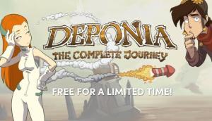 Deponia: The Complete Journey  - Grátis  ( Ativação Steam)
