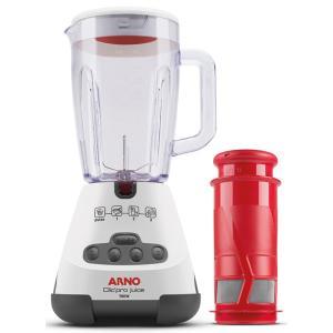 Liquidificador Arno com Filtro 700W Capacidade 1.6L e 3 Velocidades Clic Pro Juice LN4J Branco 127V - R$129