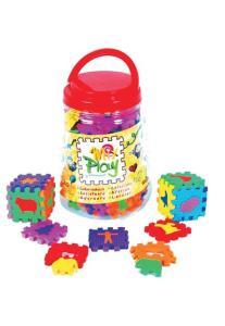Pote de Figuras Miz Play - 48 Peças  Mingone - R$11