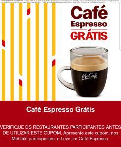 [APP MC DONALDS] MC Café Espresso - Grátis