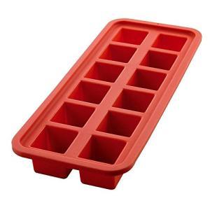 Forma de Gelo Quadrada Mimo Style Vermelho Silicone | R$12