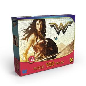 Puzzle 500 peças Mulher-Maravilha - R$28