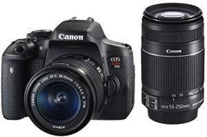 EOS Rebel, Canon, EOS Rebel T6i Premium Kit BR, Preta R$3.404