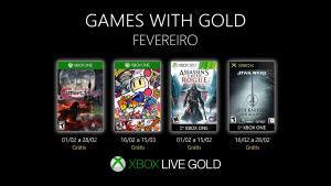 Games With Gold de Fevereiro (válido para assinantes Gold)