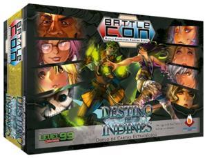 Jogo de tabuleiro - BattleCON - O Destino de Indines - R$72