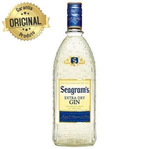 Gin Importado Garrafa 750ml - Seagram's | R$45
