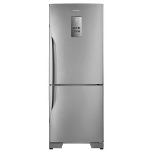 Refrigerador Panasonic BB53PV3X Frost Free 425L Aço Escovado - Refrigerador Panasonic BB53PV3XB 220v - R$2835