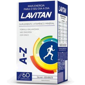 LAVITAN A-Z com 60 comprimidos - R$9